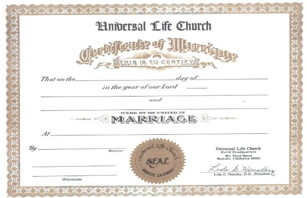 minister license certificate template - download marriage license template free heavenbackup